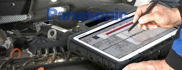 LKW Diagnose Gerät Panasonic - Brotos® Pro-Modul LKW OBD2 für fast alle LKW mit Tiefendiagnose 2021, komplett mit Kabel,- und Adaptersatz