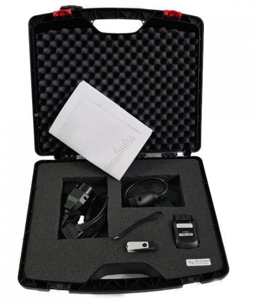 Werkstatt Profi KFZ Diagnose Koffer QLEX 1, komplett mit Software und Kabellosem OBD2 Interface