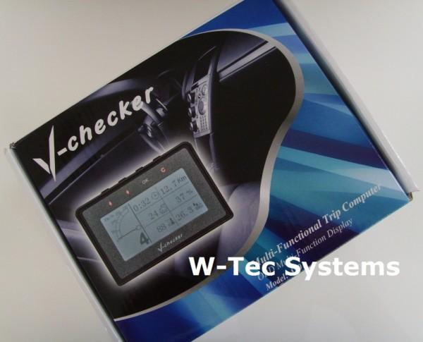 V-Checker OBD2/Can - Multi-Funktional Trip Computer