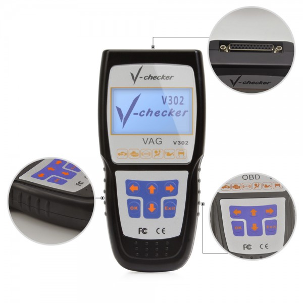 V-Checker V302 VAG Audi Volkwagen Diagnose-Scan-Tool