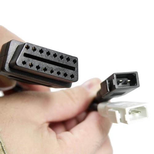2X2 Adapter auf OBD2, erford. bei ältere Audi, VW, Skoda, Seat Fahrzeuge