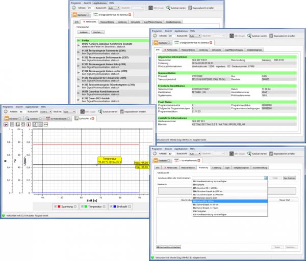 Testerset für VAG. Vollversion Software incl. USB Interface für VW, Audi, Seat und Skoda