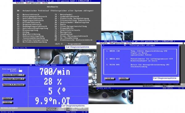 KFZ Diagnose Software für VAG, Voll-Version Ausführung. TOP-Preis!
