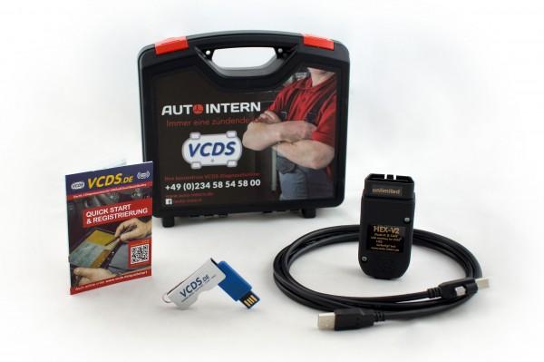 Original Ross-Tech® VCDS® HEX-V2 Basiskoffer inkl. VCDS-Lizenz, VCDS-Updates und 24 Monate Garantie