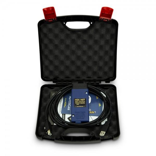 Original Ross-Tech® VCDS® HEX-NET WiFi Basiskoffer inkl. VCDS-Lizenz,VCDS-Updates,24 Monate Garantie